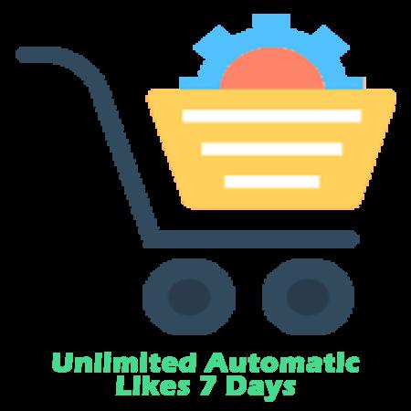 20000 Automatic Likes Unlimited Uploads 7 days