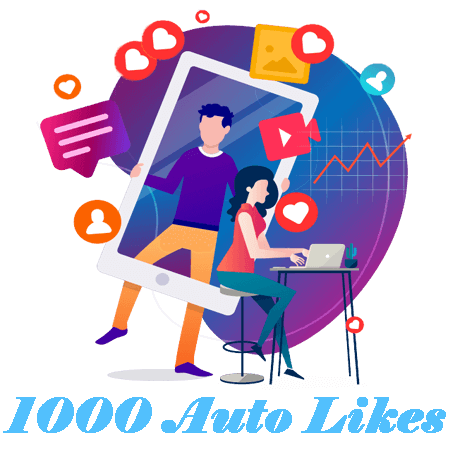 1000 Automatic Instagram Likes