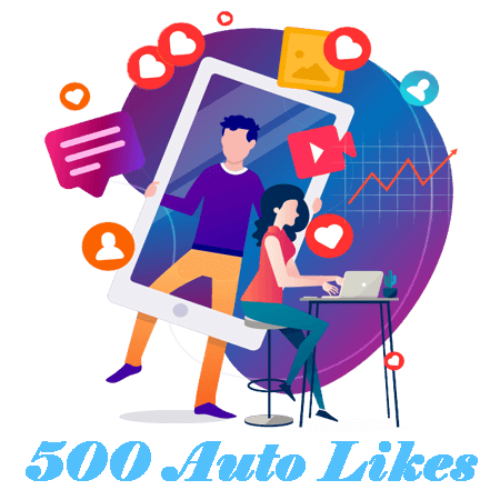 500 Automatic Instagram Likes